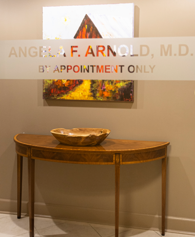 Office Entrance image Angela F. Arnold, MD by appointment only Atlanta GA